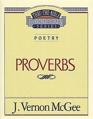 Thru the Bible Vol. 20: Poetry (Proverbs) als Taschenbuch