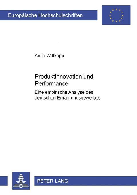 Produktinnovation und Performance als Buch