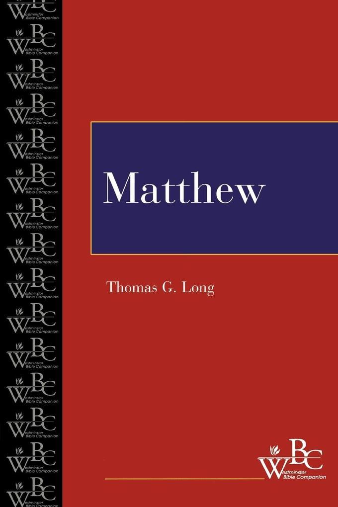Matthew (Wbc) als Taschenbuch