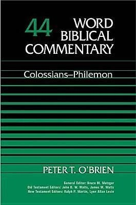 Colossians, Philemon als Buch
