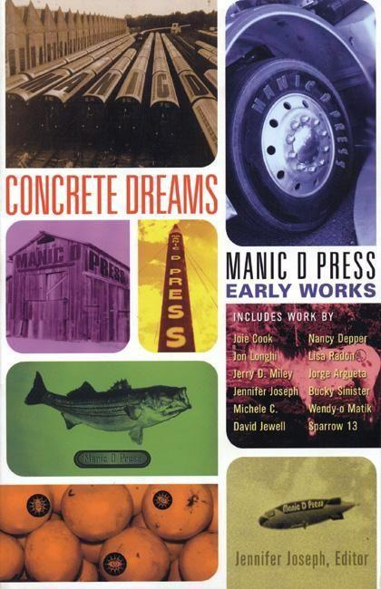 Concrete Dreams: Manic D Press Early Works als Taschenbuch