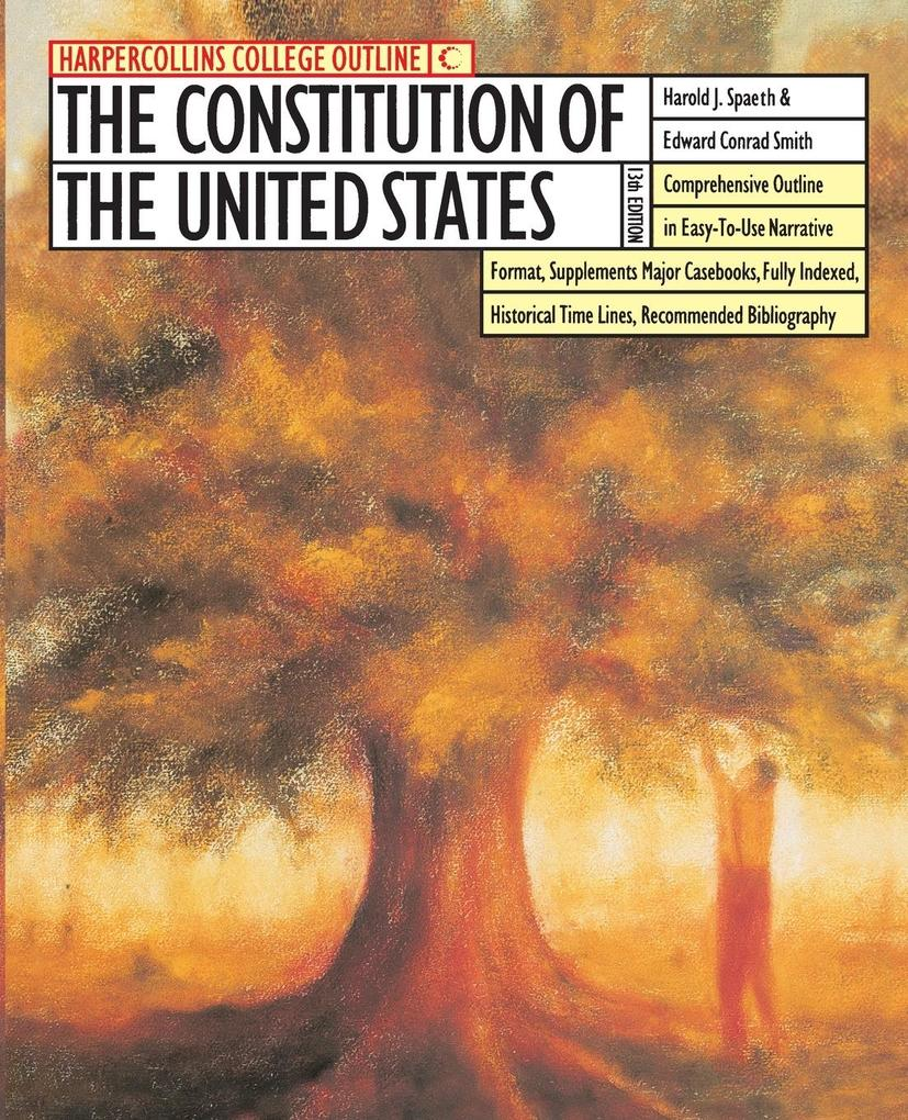 The HarperCollins College Outline Constitution of the United States als Taschenbuch