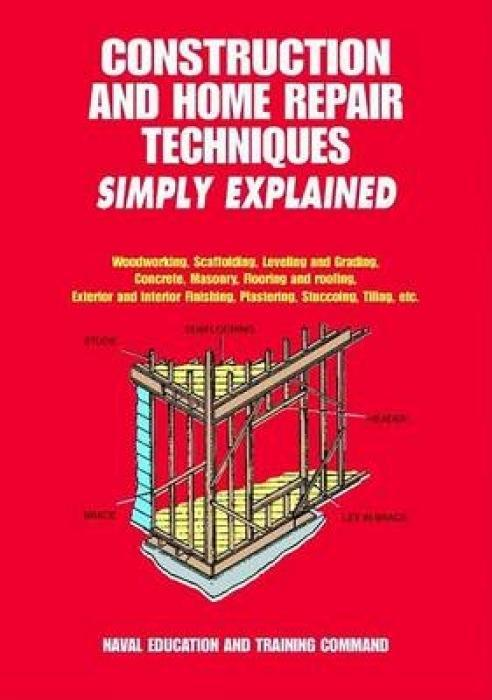 Construction and Home Repair Techniques Simply Explained als Taschenbuch