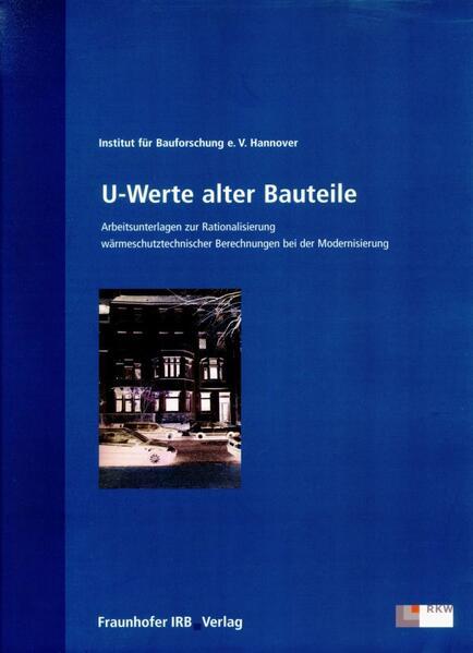 U-Werte alter Bauteile als Buch von