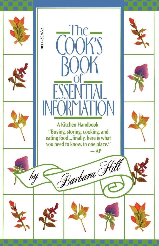 The Cook's Book of Essential Information als Taschenbuch