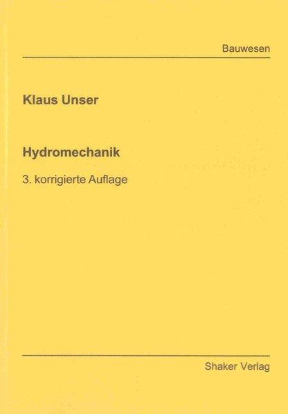 Hydromechanik als Buch