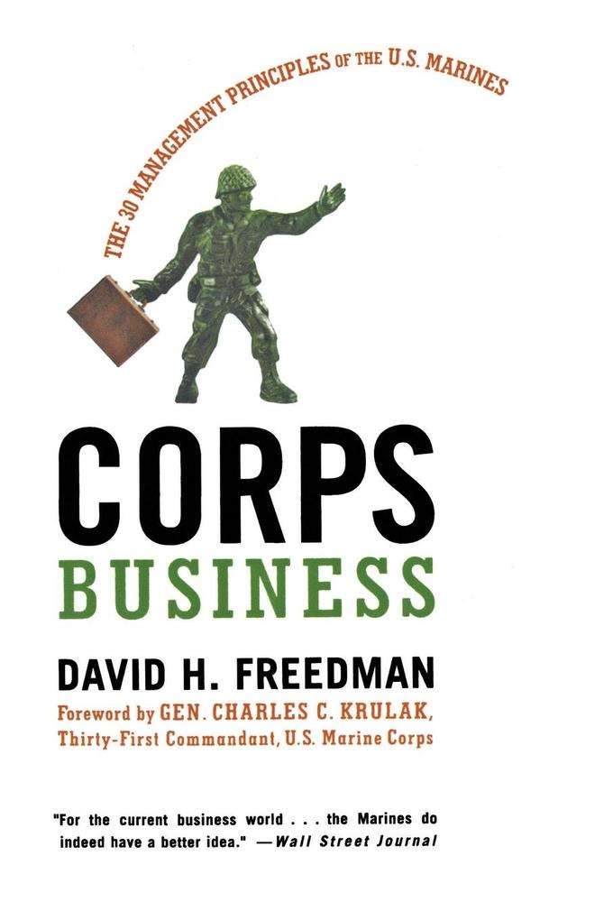Corps Business als Buch
