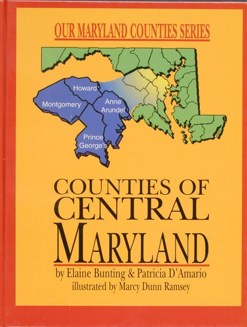 Counties of Central Maryland als Buch