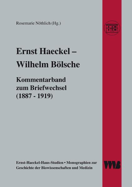 Ernst Haeckel - Wilhelm Bölsche als Buch von Christoph Kockerbeck