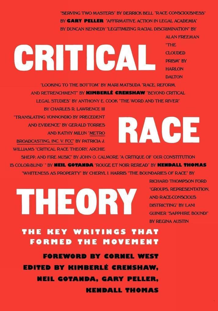 CRITICAL RACE THEORY als Taschenbuch