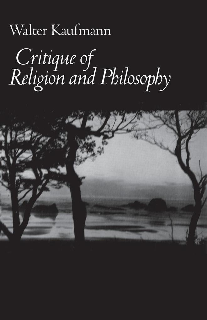 Critique of Religion and Philosophy als Taschenbuch