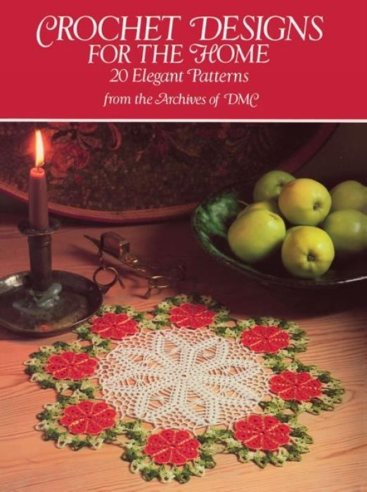 Crochet Designs for the Home: 813 Different Copyright-Free Designs Printed One Side als Taschenbuch