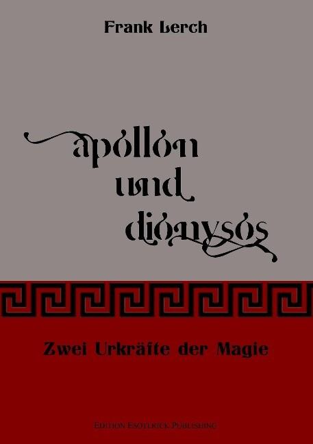 Apollon und Dionysos als Buch (kartoniert)