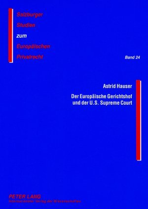 Der Europäische Gerichtshof und der U.S. Supreme Court als Buch (kartoniert)