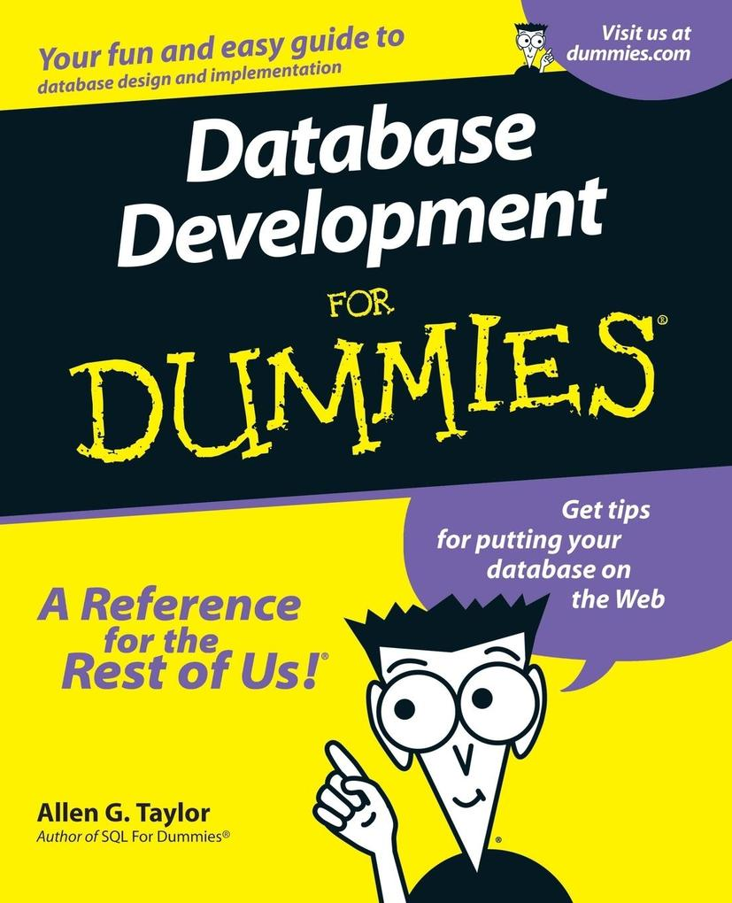 Database Development For Dummies als Buch