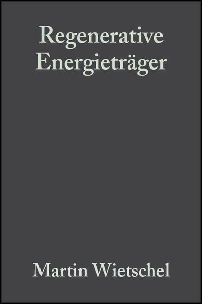 Regenerative Energieträger als Buch von