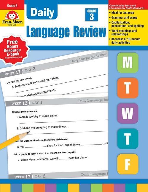 Daily Language Review Grade 3 als Taschenbuch
