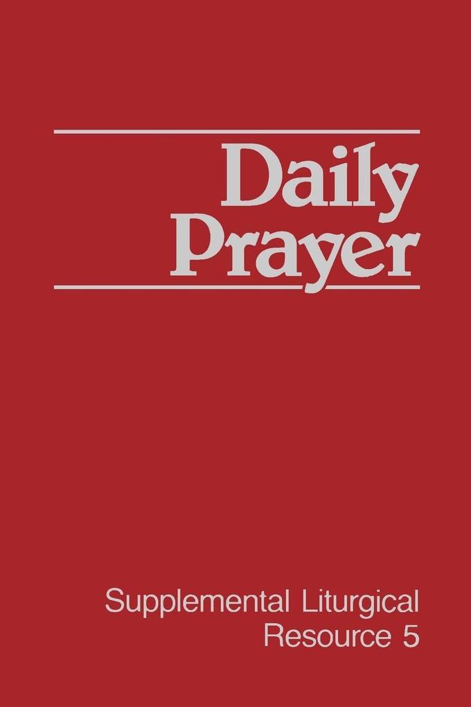 Daily Prayer als Taschenbuch