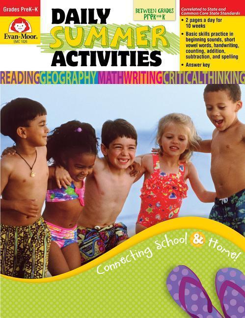 Daily Summer Activities, Moving from Prek to Kindergarten als Taschenbuch
