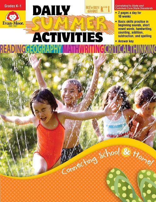 Daily Summer Activities, Moving from Kindergarten to 1st Grade als Taschenbuch