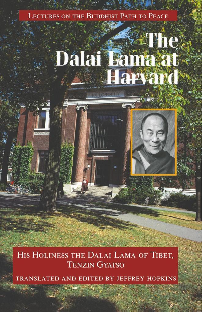 The Dalai Lama at Harvard als Taschenbuch