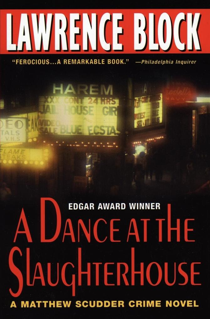 A Dance at the Slaughterhouse: A Matthew Scudder Crime Novel als Taschenbuch