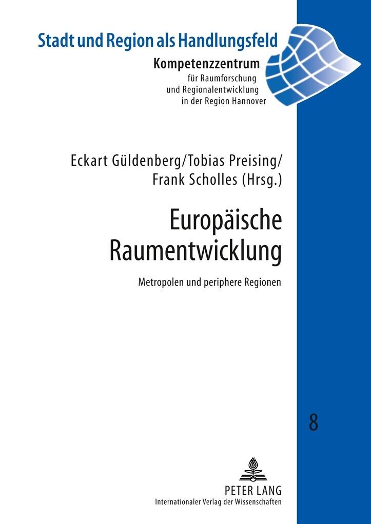 Europäische Raumentwicklung als Buch