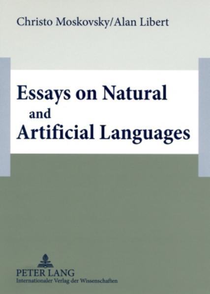 Essays on Natural and Artificial Languages als Buch (kartoniert)