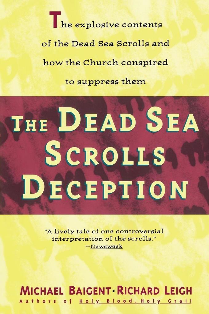 Dead Sea Scrolls Deception als Taschenbuch