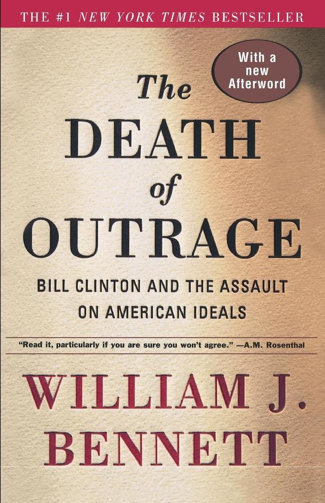 The Death of Outrage als Taschenbuch