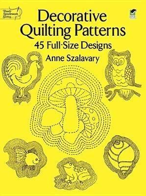 Decorative Quilting Patterns: 45 Full-Size Designs als Taschenbuch