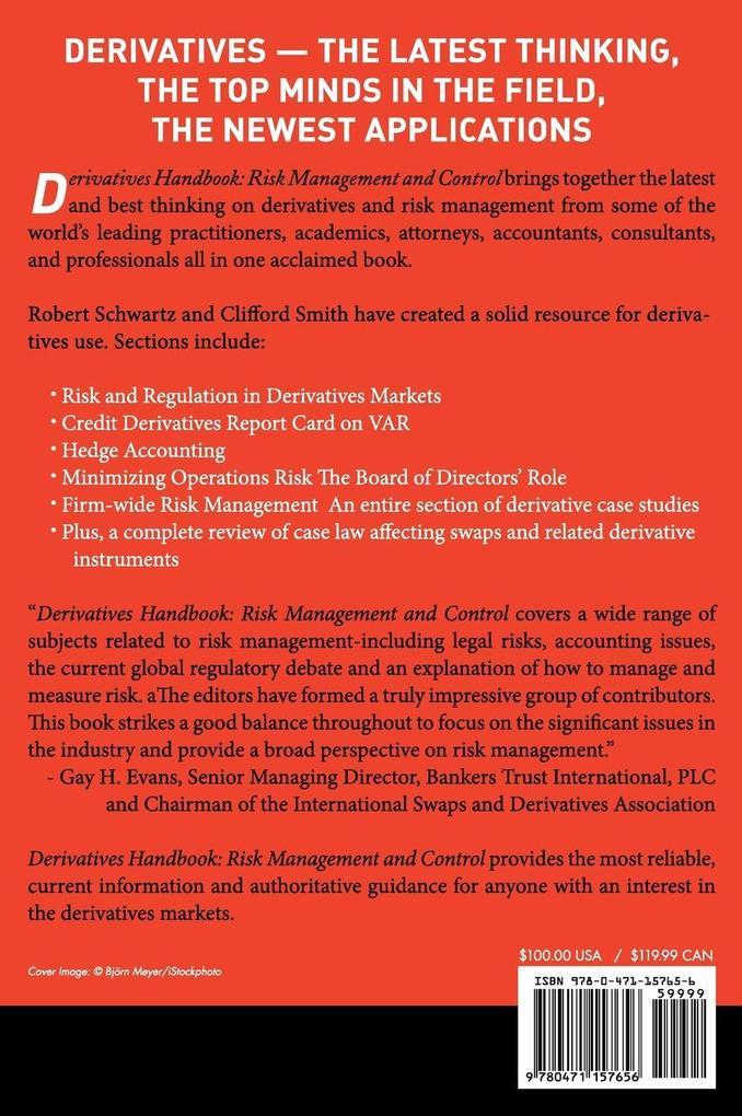 Derivatives Handbook als Buch