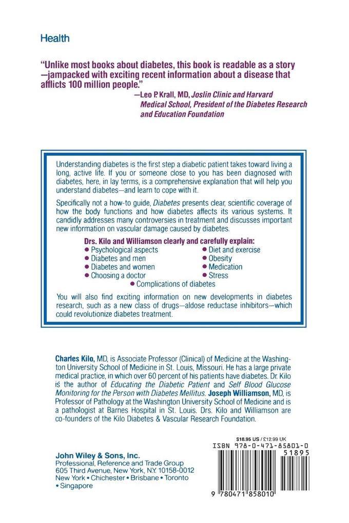 Diabetes Facts als Taschenbuch