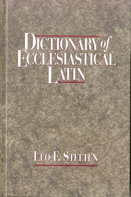 Dictionary of Ecclesiastical Latin als Buch