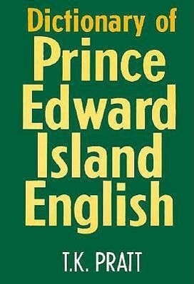 Dict of Prince Edward Island E als Taschenbuch