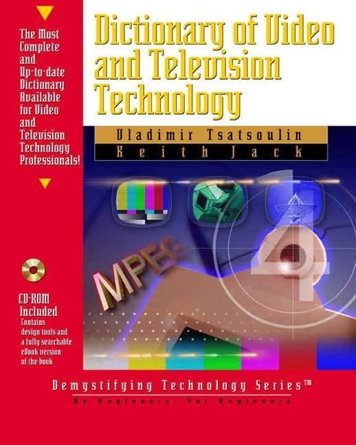 Dictionary of Video & Television Technology [With CDROM] [With CDROM] als Buch