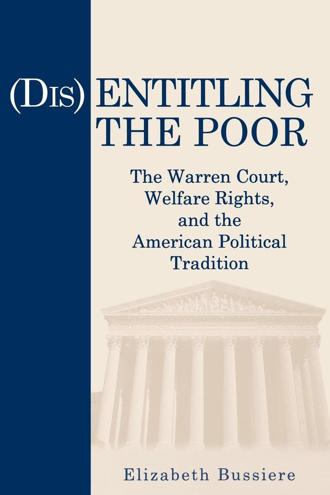 (Dis)Entitling the Poor als Taschenbuch