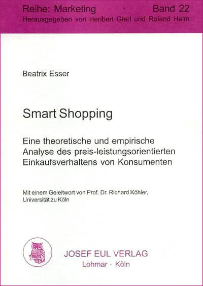 Smart Shopping als eBook von Dr. Beatrix Esser