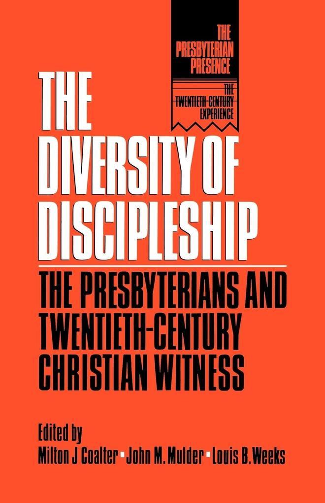Diversity of Discipleship als Taschenbuch