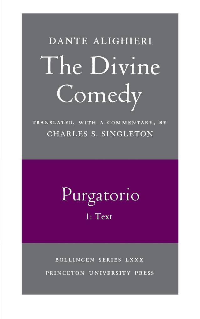 The Divine Comedy, II. Purgatorio, Vol. II. Part 1: Text als Taschenbuch
