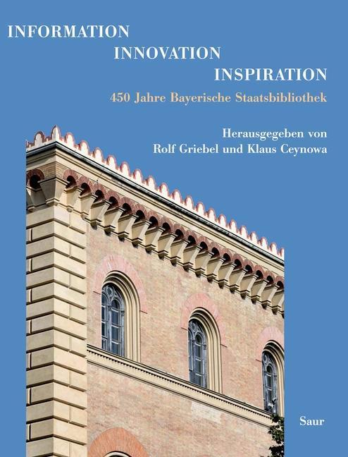 Information - Innovation - Inspiration als eBook von - Gruyter, de Saur