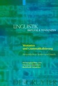 Wortarten und Grammatikalisierung als eBook pdf