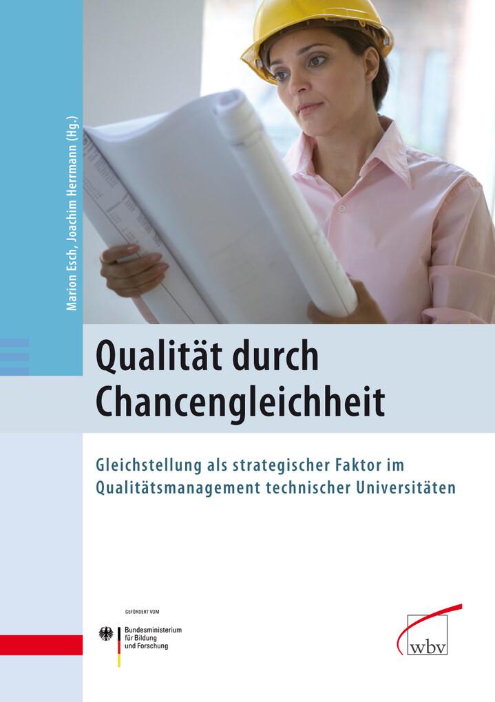 Qualität durch Chancengleichheit als eBook