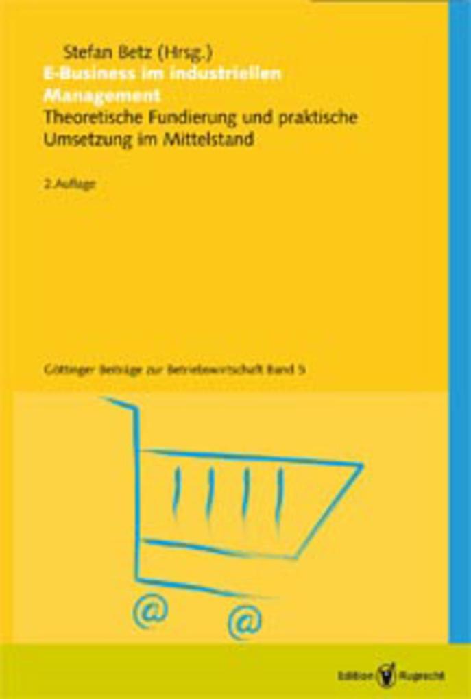 E-Business im industriellen Management als eBook