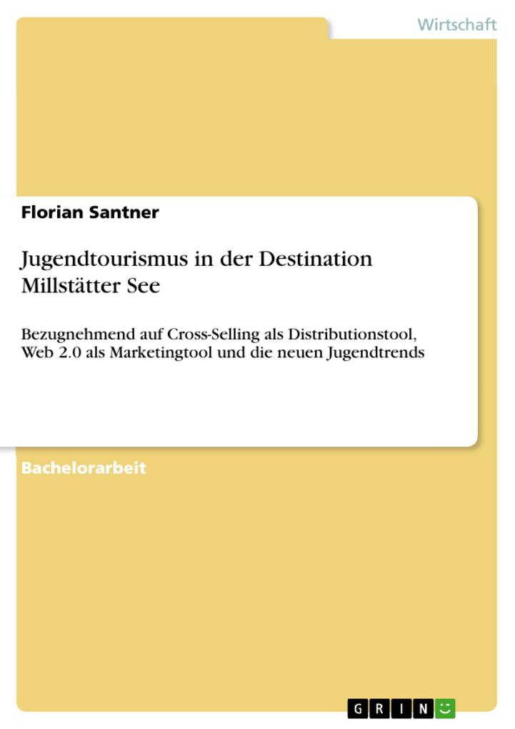Jugendtourismus in der Destination Millstätter ...