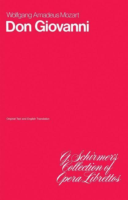 Don Giovanni: Libretto als Taschenbuch