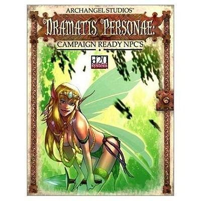Dramatis Personae Campaign Ready Npc's als Taschenbuch
