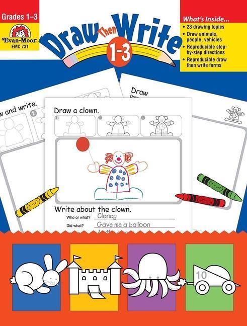 Draw...Then Write, Grades 1-3 als Taschenbuch