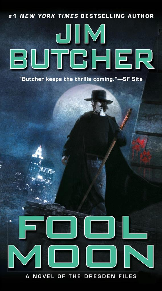 Dresden Files, Fool Moon als Taschenbuch