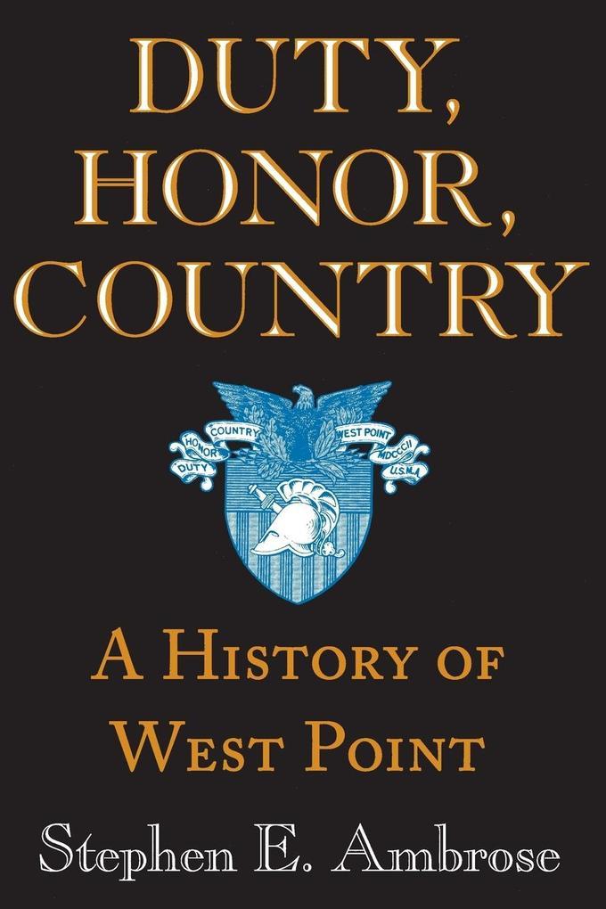 Duty, Honor, Country als Taschenbuch